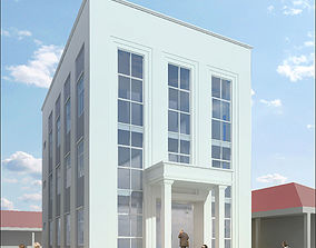 3D model Neoclassical Small Office Building
