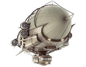 3D model Steampunk Multi-Functional Airship