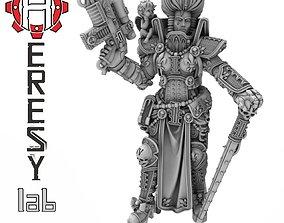 3D printable model Heresylab - Evelyn Deguise