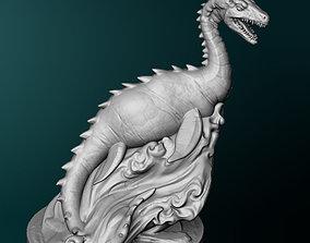 3D printable model Sea Serpent figurines