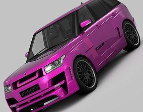 3D model Range Rover Mystere Hamann 2013