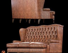 3D model Muebles Canella Sofas