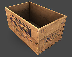Old Crate 3D asset