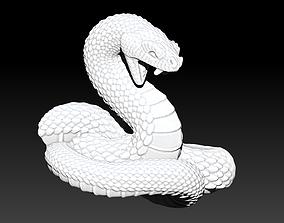3D printable model Snake logo