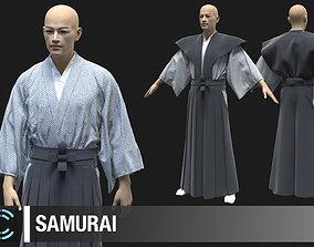 Samurai Marvelous Designer Clo 3D project obj