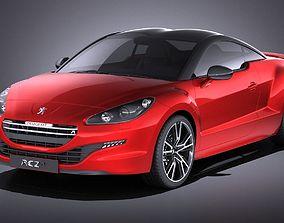 Peugeot RCZ R 2015 VRAY 3D