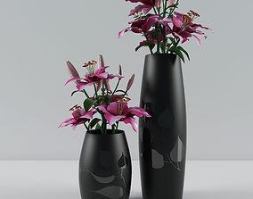 3D model Bouquet of lilies