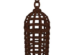 Medieval Cage 3D asset low-poly