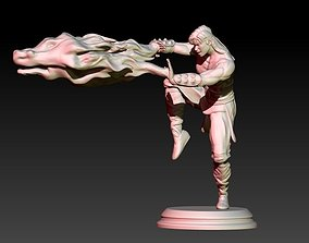 3D print model Liu Kang Fireball