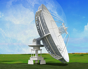 3D model Radio Satelite Dish