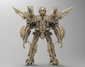 MegaRoboX1 3D asset