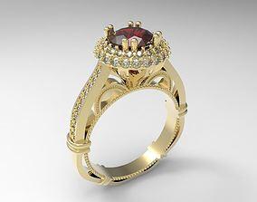 Model 119 Verragio style ring