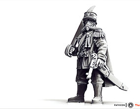 Valour Korps - General Waldemar miniatures 3D print model
