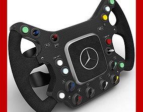 F1 McLaren Steering Wheel 3D model steering