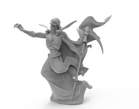 3D printable model dark wizard