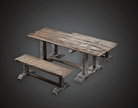 middle Table - MVL - PBR Game Ready 3D model