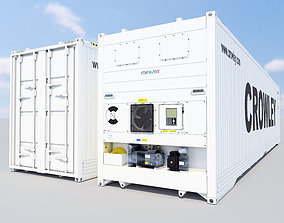 3D model Star Cool - New 40ft Reefer Container