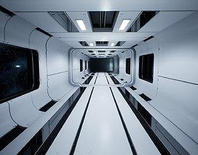 3D asset Modular Sci-Fi Interior