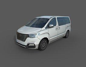 Low Poly Car - Hyundai Grand Starex 3D model