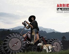3D model Arriero vehicle