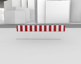 3D model Construction Barrier Version 1 600-35 250x2400mm
