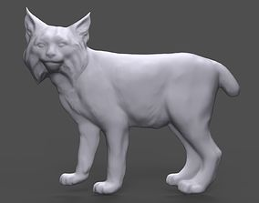 3D printable model Lynx bas relief for CNC
