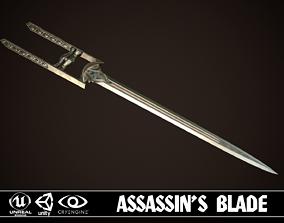 3D asset Assassin Blade 05
