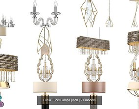 Lucia Tucci Lamps pack 3D