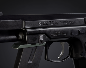 CZ75 Automatic Gun 3D asset