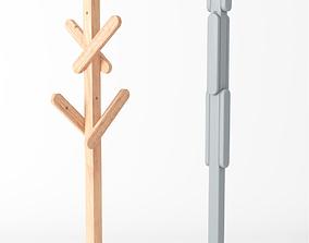 Karimoku New Standard Signs Coat Stand 3D model
