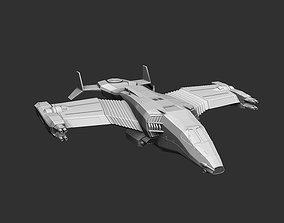 3D print model Space interplanetary cargo ship