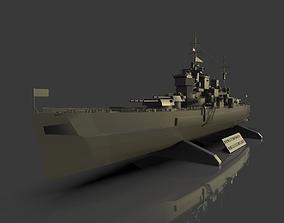 Battleship King George V 3D model