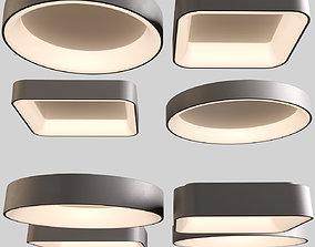 Modern LED Ceiling Lights 3D