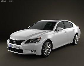 3D Lexus GS 2012