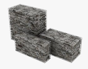 Gabionen 3D