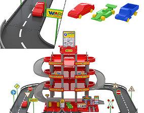 Toy Parking Wader 3D