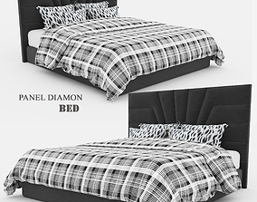 3D Panel Diamond Bed