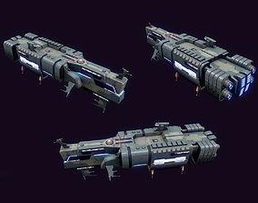 Spaces Ship Transport 3D model
