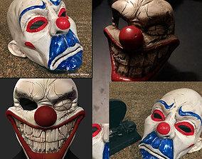 3D model Clown Mask Special Collection Halloween Helmet 2