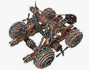 Medieval Catapult 3D asset