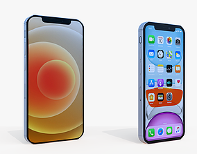 iPhone 12 and 12 Pro 3D model