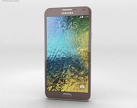 Samsung Galaxy E7 Brown 3D