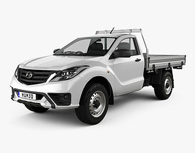 Mazda BT-50 Single Cab Alloy Tray 2018 3D model