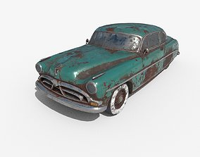 Abandoned Car 36 3D
