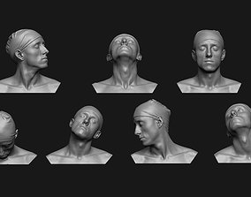 3D print model Neck Anatomy Reference Set