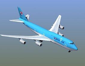 B747 Airliner 3D jumbo