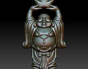 cnc Laughing Buddha 3D printable model