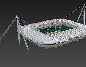 Juventus stadium HQ 3D model