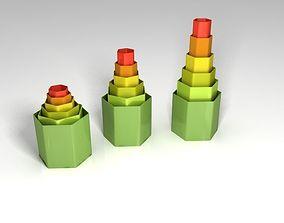 The creative vase 3D design