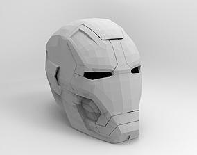 3D print model avengers Iron man helmet